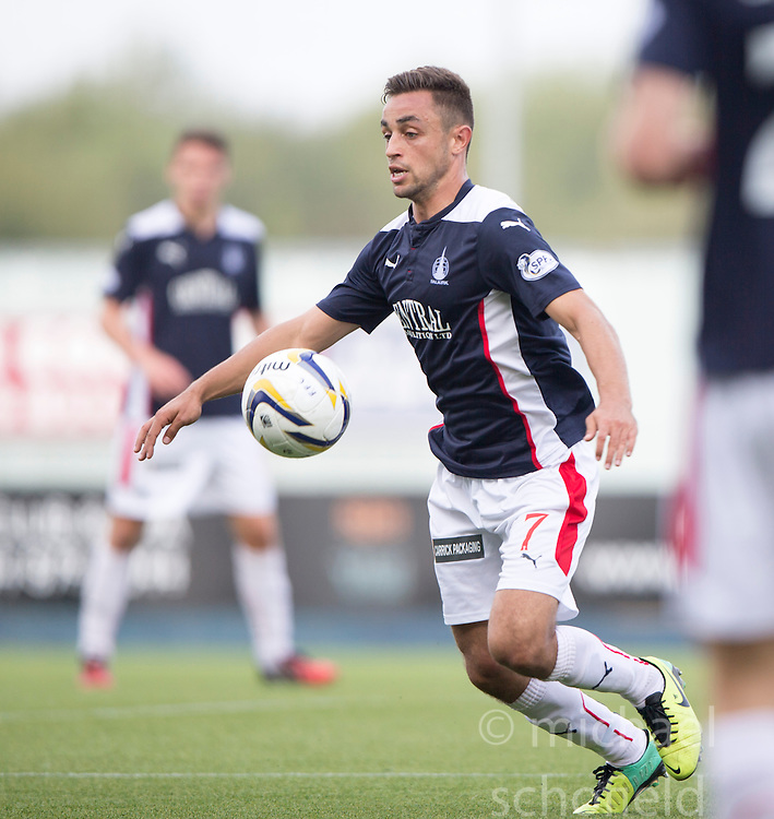 Falkirk's Tom Taiwo.<br /> Falkirk 1 v 1 Queen of the South, Scottish Championship game played today at The Falkirk Stadium.