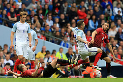 England's Jack Wilshere is fouled - Mandatory byline: Matt McNulty/JMP - 07966386802 - 22/05/2016 - FOOTBALL - Etihad Stadium -Manchester,England - England v Turkey - International Friendly