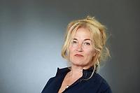 Edinburgh, Scotland. UK. 20 August 2018. Edinburgh International Book Festival. Picture: Louise Young writer. Edinburgh. Pako Mera/Alamy Live News.