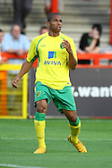 Stevenage - Tuesday July 20th, 2010:   Simeon Jackson of Norwich in action during the Pre Season Friendly match at the Lamex Stadium, Stevenage. (Pic by Paul Chesterton/Focus Images)