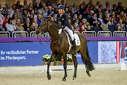 KLIMKE Ingrid (GER), Franziskus 15<br /> Frankfurt - Festhallen Reitturnier 2019<br /> Preis der Liselott-Schindling-Stiftung<br /> Int. Grand Prix Special – Dressurprüfung Kl. S***<br /> 21. Dezember 2019<br /> © www.sportfotos-lafrentz.de/Stefan Lafrentz