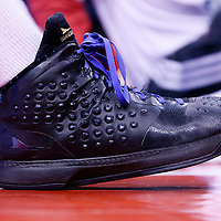12 February 2014: Close view of the Los Angeles Clippers shooting guard Jamal Crawford (11) shoes during the Los Angeles Clippers 122-117 victory over the Portland Trail Blazers at the Staples Center, Los Angeles, California, USA.
