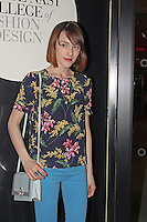 LONDON - April 30: Ella Catliff at the Conde Nast College of Fashion & Design - Opening Party (Photo by Brett D. Cove)