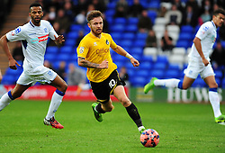 Bristol Rovers' Matty Taylor - Photo mandatory by-line: Neil Brookman/JMP - Mobile: 07966 386802 - 08/11/2014 - SPORT - Football - Birkenhead - Prenton Park - Tranmere Rovers v Bristol Rovers - FA Cup - Round One