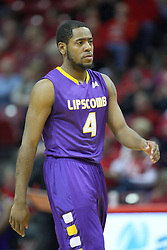 19 November 2011:  Deonte Alexander during an NCAA mens basketball game between the Lipscomb Bison and the Illinois State Redbirds in Redbird Arena, Normal IL
