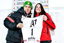 26.01.2013, Streif, Kitzbuehel, AUT, FIS Weltcup Ski Alpin, Abfahrt, Herren, Super G, im Bild Marcel Hirscher (AUT) // during mens SuperG of the FIS Ski Alpine World Cup at the Streif course, Kitzbuehel, Austria on 2013/01/26. EXPA Pictures © 2013, PhotoCredit: EXPA/ Markus Casna