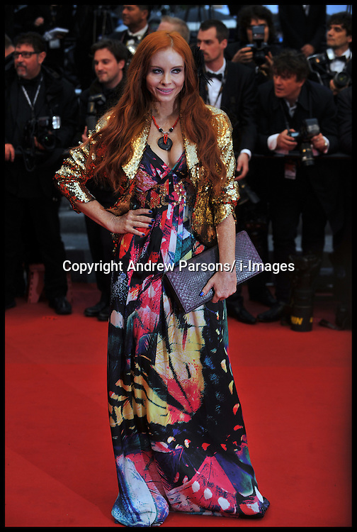 Phoebe Price arrives on the Red Carpet for the Premiere of Amour during the 65th Annual Cannes Film Festival at Palais des Festivals, Cannes, France, Sunday May 20, 2012. Photo by Andrew Parsons/i-Images.