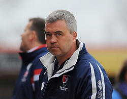 Cheltenham Town Manager, Russell Milton  - Photo mandatory by-line: Nizaam Jones - Mobile: 07966 386802 - 28/03/2015 - SPORT - Football - Cheltenham - Whaddon Road - Cheltenham Town v Plymouth Argyle - Sky Bet League Two
