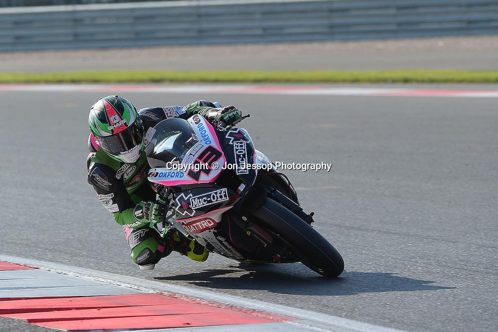 #43 Howie Mainwaring Smart Quattro Plant Bournemouth Kawasaki Feridax MCE British Superbikes