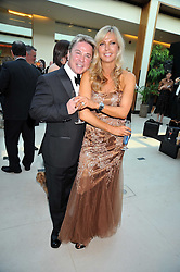 DAVID VAN DAY and his fiance at the annual Dog's Trust Honours Awards held at The Hurlingham Club, Fulham, London on 19th May 2009.