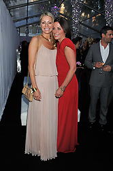 Left to right, TESS DALY and DAVINA McCALL at the Glamour Women of The Year Awards 2011 held in Berkeley Square, London W1 on 7th June 2011.