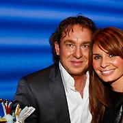 NLD/Amsterdam/20100114 - Uitreiking Twitteraar van het jaar 2009 prijs, Marco Borsato en partner Leontien Borsato - Ruiters