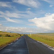 Road, North Yorkshire Moors