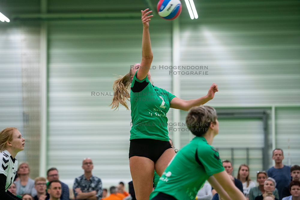 31-03-2019 NED: Final A Volleybaldirect Open, Koog aan de Zaan<br /> 16 teams of girls and boys A competed for the Dutch Open Championship / Emmen ´95 vs. VC Sneek