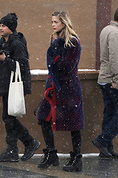 EXCLUSIVE: Jaime King continues to show off her Sundance Style with a fashionable red and blue wool jacket. Jamie was at the festival promoting her film 'Bitch' with co-star Jason Ritter. 20 Jan 2017 Pictured: Jaime King. Photo credit: Atlantic Images / MEGA TheMegaAgency.com +1 888 505 6342