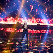NLD/Hilversum/20180209 - 3e Liveshows The voice of Holland 2018, Demi van Wijngaarden