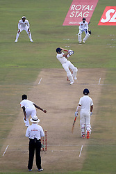 July 26, 2017 - Galle, Sri Lanka - Indian cricket captain Virat Kohli edges the ball to get out off the bowling of Sri Lanka's Nuwan Pradeep during the 1st Day's play in the 1st Test match between Sri Lanka and India at the Galle International cricket stadium, Galle, Sri Lanka on Wednesday 26 July 2017. (Credit Image: © Tharaka Basnayaka/NurPhoto via ZUMA Press)