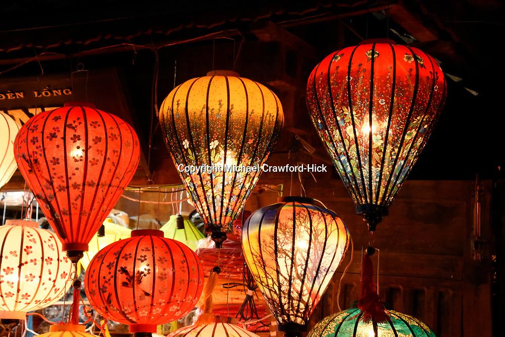 Hoi An, Vietnam, Lantern Festival at Full Moon