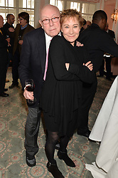 RICHARD WILSON and ZOE WANAMAKER at the Oldie Magazine's Oldie of The Year Awards held at Simpson's In The Strand, London on 4th February 2014.