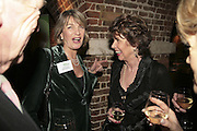 Lady Colwyn and Jilly Hampson, Parliamentary Variety Show in aid of Macmillan Cancer Support.  , St. Johns, Smith Square, London, 1 February 2007.  -DO NOT ARCHIVE-© Copyright Photograph by Dafydd Jones. 248 Clapham Rd. London SW9 0PZ. Tel 0207 820 0771. www.dafjones.com.