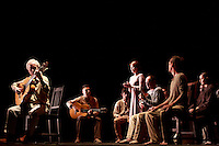 Paco Peña spanish flamenco with his show Patrias, explores through music the emotional, physical and cultural impact of war on Spain country's history. Photo by Pako Mera
