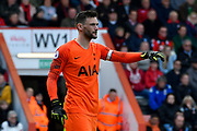 Hugo Lloris (1) of Tottenham Hotspur during the Premier League match between Bournemouth and Tottenham Hotspur at the Vitality Stadium, Bournemouth, England on 4 May 2019.