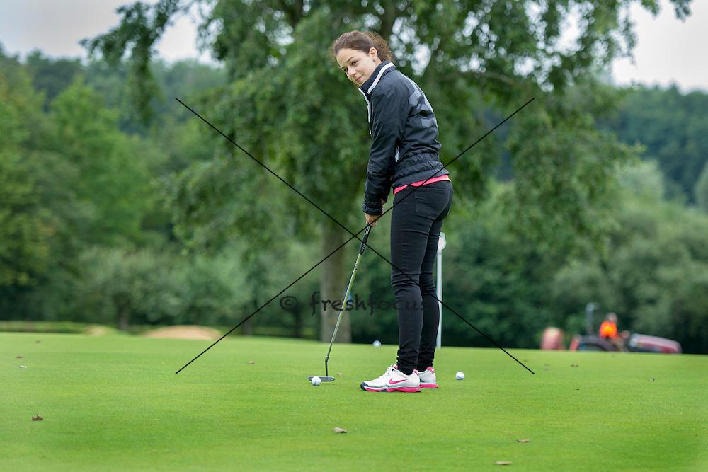 30.07.2014; Luterbach; Eishockey - Swiss Ice Hockey Golf Trophy 2014;<br /> (Claudia Minder/freshfocus)