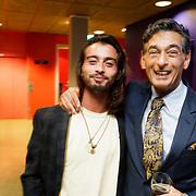 NLD/Amstelveen/20181012 - Theaterrcollege mr Gerard Spong, en zoon Xander