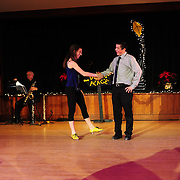 """Ayan Imai-Hall and Demi Remick perform in the show """"Ring in the Rhythm! A Jazz & Tap Holiday"""" at The Dance Hall in Kittery, ME"""