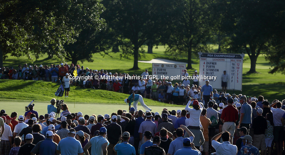 Jason DUFNER (USA) during fourth round US PGA Championship 2013,Oak Hill CC,
