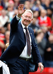 Manchester United Legends manager Sir Alex Ferguson during the legends match at Old Trafford, Manchester.