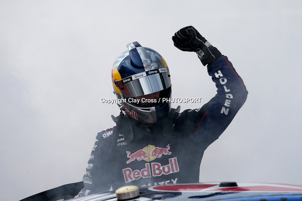 SHANE VAN GISBERGEN (Red Bull Racing Holden) 2016 Supercars Champion and race winner. 2016 Coates Hire Sydney 500. Virgin Australia Supercars Championship Round 14. Sydney Olympic Park Street Circuit, Homebush Bay. Sunday 4 December 2016. Photo: Clay Cross / photosport.nz
