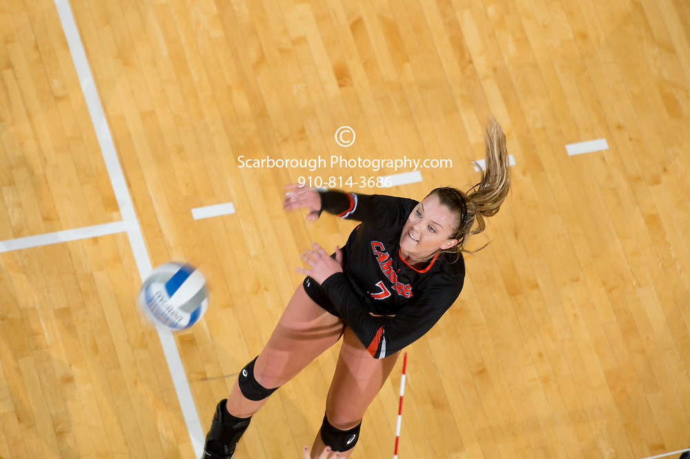 2015 Campbell University Volleyball vs High Point