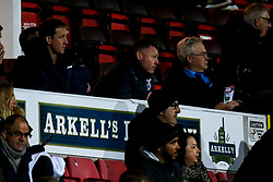 Bristol Rovers manager Graham Coughlan attends the Under 18s FA Youth Cup fixture against Swindon Town - Mandatory by-line: Robbie Stephenson/JMP - 29/10/2019 - FOOTBALL - County Ground - Swindon, England - Swindon Town v Bristol Rovers - FA Youth Cup Round One