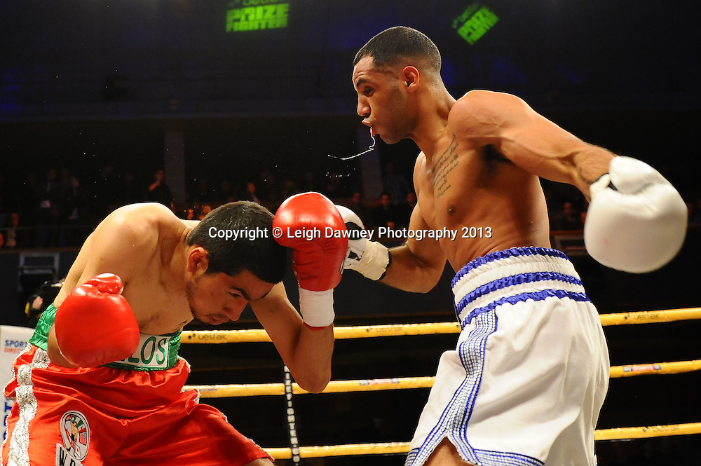 Kal Yafai fights Gonzalo Garcia in a International Bantamweight contest,Civic Hall Wolverhampton. on the 19th January 2013. Matchroom Sport/ Prizefighter © Leigh Dawney 2013Kal Yafai defeats Gonzalo Garcia in a International Bantamweight contest,Civic Hall Wolverhampton. on the 19th January 2013. Matchroom Sport/ Prizefighter © Leigh Dawney 2013