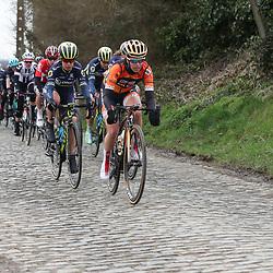 25-02-2017: Wielrennen: Omloop Het Nieuwsblad: Gent  <br />GENT (NED) wielrennen<br />Karol-Ann Canual