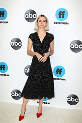 Celebrity arrivals at Disney ABC Television Hosts TCA Winter Press Tour 2019 on February 05, 2019 in Pasadena, California. 05 Feb 2019 Pictured: Maia Mitchell. Photo credit: @parisamichelle / MEGA TheMegaAgency.com +1 888 505 6342