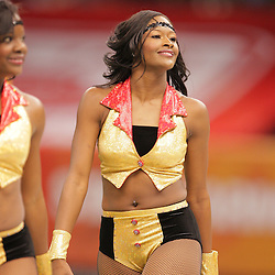 2008 November, 29: The Grambling State University dance team performs with the band performs during the 35th annual State Farm Bayou Classic at the Louisiana Superdome in New Orleans, LA.  .