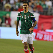 Rafael Márquez, Mexico, in action during the Portugal V Mexico International Friendly match in preparation for the 2014 FIFA World Cup in Brazil. Gillette Stadium, Boston (Foxborough), Massachusetts, USA. 6th June 2014. Photo Tim Clayton