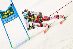 March 9, 2019 - Kranjska Gora, Kranjska Gora, Slovenia - Mathias Graf of Austria in action during Audi FIS Ski World Cup Vitranc on March 8, 2019 in Kranjska Gora, Slovenia. (Credit Image: © Rok Rakun/Pacific Press via ZUMA Wire)