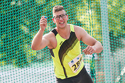 Kristjan Ceh competes during day 2 of Slovenian Athletics Cup 2019, on June 16, 2019 in Celje, Slovenia. Photo by Peter Kastelic / Sportida