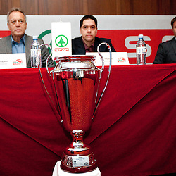 20120214: SLO, Basketball - Press conference of Spar Cup 2012