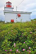 Long Eddy Point lighthouse<br /> Grand Manan Island<br /> New Brunswick<br /> Canada