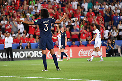 June 29, 2019 - Paris, ile de france, France - Wendie Renard (FRA)  during the quarter-final between FRANCE vs USA in the 2019 women's football World cup at Parc des Princes in Paris, on the 28 June 2019. (Credit Image: © Julien Mattia/NurPhoto via ZUMA Press)