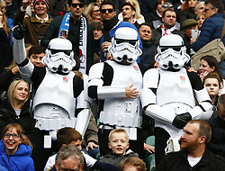 March 9, 2019 - London, England, United Kingdom - London, ENGLAND, 9th March .England Fans.during the Guinness 6 Nations Rugby match between England and Italy at Twickenham  stadium in Twickenham  England on 9th March 2019. (Credit Image: © Action Foto Sport/NurPhoto via ZUMA Press)