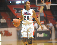 "Ole Miss' Kayla Melson (20) at the C.M. ""Tad"" Smith Coliseum in Oxford, Miss. on Saturday, December 11, 2010."