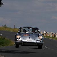 1963 Porsche 356 B Coupe, Veszprem Classic Rally 2009