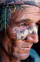 "Daha, 08 March 2005.  ..Old man beaten up by soldiers of the Royal Nepal Army. ""Yesterday - March 7, 2005 - at around 10am a patrol from the RNA (Royal Nepal Army) was in this area. Nobody recognised them at first because they got in disguised as women, but then they revealed their hidden weapons and shot dead that Maoist. Soon after other RNA in uniform arrived here and destroyed a Maoist's house. They have also captured an old man, he was beaten and then released. The RNA told us that they killed the Maoist because he did have a socket bomb with him, but we didn't see it and there was not any explosion. We are afraid from both the Royal Nepal Army and the Maoist"" local witness says"