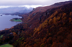 UK ENGLAND LAKE DISTRICT KESWICK NOV99 - View on Derwent Water near Keswick in the upper part of the Lake District...jre/Photo by Jiri Rezac..© Jiri Rezac 1999..Tel: +44 (0) 7050 110 417.Email: info@jirirezac.com.Web: www.jirirezac.com