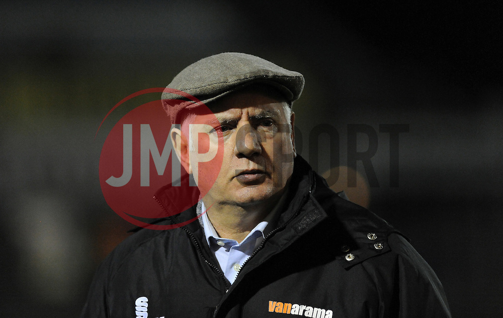 Braintree Town Manager, Alan Devonshire - Photo mandatory by-line: Neil Brookman/JMP - Mobile: 07966 386802 - 24/02/2015 - SPORT - Football - Bristol - Memorial Stadium - Bristol Rovers v Braintree - Vanarama Football Conference